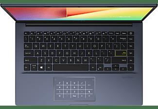 ASUS VivoBook S14 (S433IA-EB166T), Notebook mit 14 Zoll Display, Ryzen™ 5 Prozessor, 8 GB RAM, 512 GB SSD, AMD Radeon R3 Grafik, Indie Black