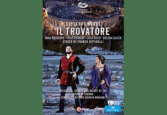 Netrebko/Eyvazov/Morandi/Orchestra Arena di Verona - IL TROVATORE VERONA 2019  - (DVD)