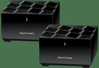 NETGEAR Nighthawk MK62 Router und Satellit Set, 2er-Bundle (MK62-100PES)
