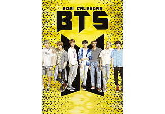 BTS - 2021 Unofficial Calendar - A3-as naptár