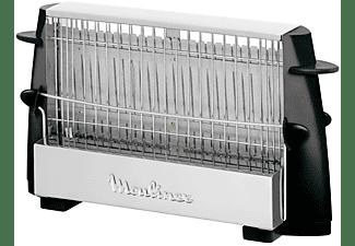 Tostadora - Moulinex A15453 Capacidad para 2 tostadas, Estructura de acero inoxidable, Diseño