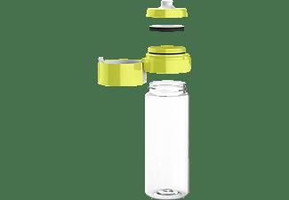 BRITA 061265 Fill&Go Vital Wasserfilterflasche, Limone/Transparent