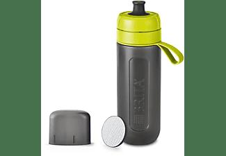 BRITA fill&go Active Trinkflasche, Limone/Grau