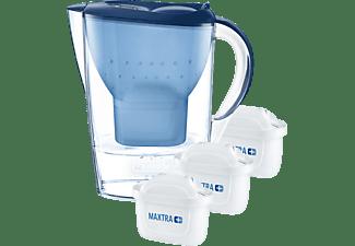 BRITA Marella inkl. 3 MAXTRA+ Tischwasserfilter, Blau