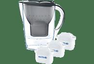 BRITA Marella inkl. 3 MAXTRA+ Tischwasserfilter, Graphit