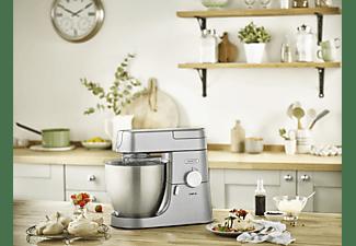 KENWOOD Chef XL KVL4100S Küchenmaschine Silber (Rührschüsselkapazität: 6,7 Liter, 1200 Watt)
