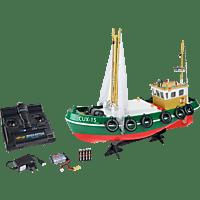 CARSON RC-Fischkutter Cux-15 2.4G 100% RTR Ferngesteuertes Boot, Grün
