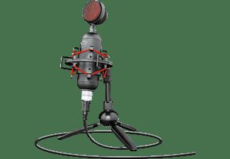 Micrófono - Trust GXT 244 BUZZ Streaming, USB Digital, Patrón de grabación cardioide, Negro