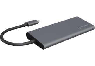 RAIDSONIC USB-C USB C Dockingstation, Schwarz