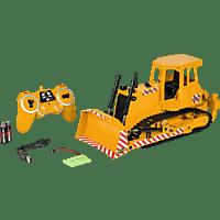 CARSON 1:20 RC Bulldozer 2,4G 100% RTR Spielzeugbulldozer, Gelb