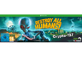 Destroy All Humans! Crypto-137 Edition - [Xbox One]