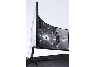 SAMSUNG Gaming Monitor Odyssey G9, 49 Zoll, DQHD, 240Hz, Curved, Weiß (LC49G95TSSUXEN)