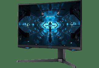 SAMSUNG Gaming Monitor Odyssey G7 Curved, 27 Zoll, WQHD, 1ms, 240Hz, 400cd, VA, Schwarz (LC27G75TQSRXEN)
