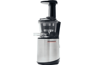 GASTROBACK 40145 Slow Juicer Advaced Vital Slow Juicer 150 Watt, Edelstahl/Schwarz