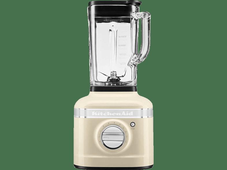 KITCHENAID 5KSB4026EAC K400 ARTISAN Standmixer Creme 1200 Watt, 1.4 Liter