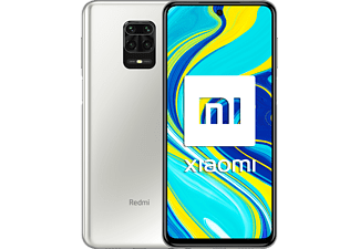"Móvil - Xiaomi Redmi Note 9S, Blanco Glaciar, 128GB, 6GB, 6.67"" Full HD+, Snapdragon™ 720G, 5020 mAh, Android"
