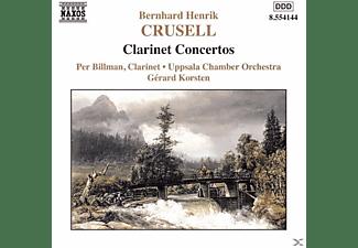 Per Billman, Uppsala Chamber Orchestra - Klarinettenkonzerte 1-3  - (CD)
