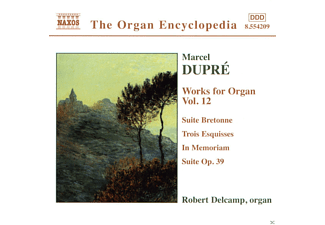 Robert Delcamp - Orgelwerke  Vol.12  - (CD)