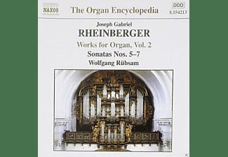 Rübsam Wolfgang - Orgelwerke Vol.2  - (CD)
