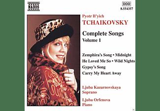 Ljuba Kazarnovskaya, Ljuba Orefenova - Complete Songs Volume 1  - (CD)