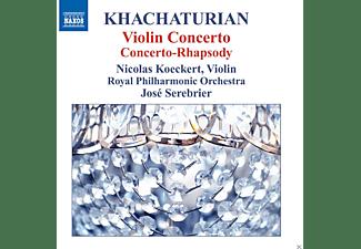 Nicolas Koeckert, Royal Philharmonic Orchestra - Violinkonzert/Concerto-Rhapsody  - (CD)