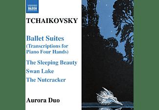 Aurora Duo - Balettsuiten Arr.F.Klavier Zu 4 Händen  - (CD)