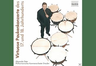 VARIOUS, Alexander/pko Dresden Peter - Virtuose Paukenkonzerte  - (CD)