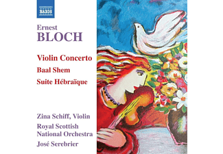 Zina Schiff, Royal Scottish National Orchestra - Violinkonzert/Baal Shem/Suite Hebraique  - (CD)