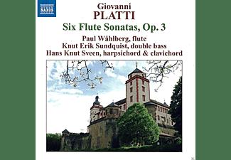 Paul Wahlberg, Hans Knut Sveen, Knut Erik Sundquist - Sechs Flötensonaten Op.3  - (CD)