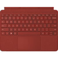MICROSOFT Surface Go Signature Type Cover Tastatur Mohnrot