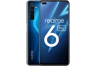 "Móvil - realme 6 Pro, Azul, 128 GB, 8 GB, 6.6"" Full HD+, Snapdragon 720G, 4300 mAh, Android"