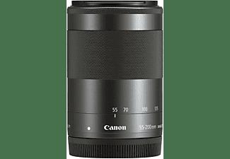 CANON EF-M 55 mm - 200 mm f/4.5-6.3 EF-M, IS, STM (Objektiv für Canon M-Mount, Graphit-Grau)