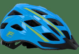FISCHER 50454 Urban Montis L/XL (Fahrradhelm, 58-61 cm, Blau/Grün)