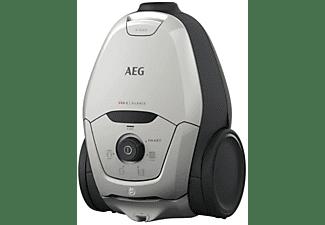 Aspirador con bolsa - AEG VX82-1-2MG  600W, 57 dB, Gris