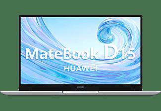 """Portátil - Huawei MateBook D15, 15.6"""" FHD, Intel® Core™ i5-10210U, 8 GB, 256 SSD, W10, Plata"""