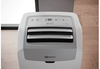 BAUKNECHT PACW29HP BK Klimagerät Weiß (Max. Raumgröße: 30 m², EEK: A+)