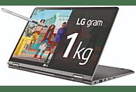 Convertible 2 en 1 - LG Gram 14T90N-VAA78B, 14 FullHD, Intel® Core™ i7-10510U, 16 GB, 512 GB, W10 Home, Plata