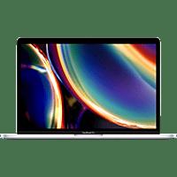 APPLE MXK62D/A-3887126 MacBook Pro, Notebook mit 13,3 Zoll Display, Core i5 Prozessor, 8 GB RAM, 256 GB SSD, Intel Iris Plus Grafik 645, Silber