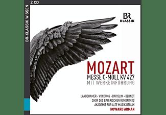 Anke Vondung, Chor Des Bayerischen Rundfunks, Akademie Für Alte Musik Berlin, Landshamer Christina, Davislim Steve - Messe in c-moll,KV 427  - (CD)
