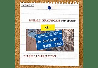 Fortepiano Ronald Brautigam - Sämtliche Solo-Klavierwerke vol.15  - (SACD)