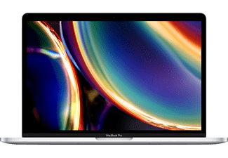 APPLE MWP72D/A-3887134 MacBook Pro, Notebook mit 13.3 Zoll Display, Core i5 Prozessor, 16 GB RAM, 512 GB SSD, Intel Iris Plus Grafik, Silber