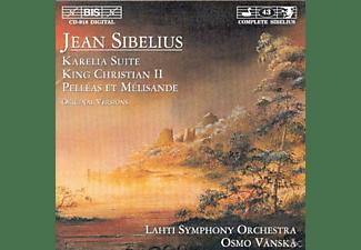 Osmo Lahti Symphony Orchestra / Vänskä - Karelia Suite/King Christian  - (CD)