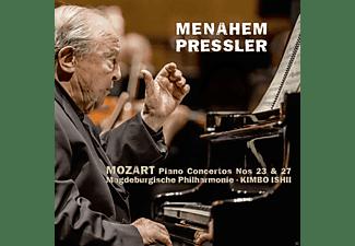 Menahem Pressler, Ronald Brautigam - Mozart: Piano Concertos Nos. 8, 11 & 13  - (CD)