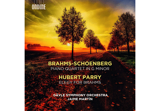 Gavle Symphony Orchestra - Klavierquartett in g-moll/Elegy for Brahms  - (CD)