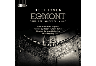 Elisabeth Breuer, Robert Hunger-Bühler, Aapo Häkkinen, Helsinki Baroque Orchestra - Egmont  - (CD)