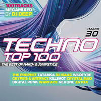 VARIOUS - Techno Top 100 Vol.30 The Best Of Hard-& Jumpstyl - [CD]