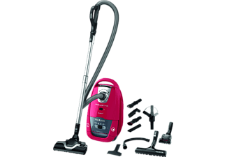 ROWENTA Silence Force Allergy + Home&Car - Aspirateur (Rouge/Gris, Avec sac)