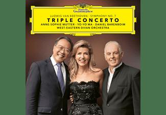 Anne-Sophie Mutter, West-Eastern Divan Orchestra, Yo-Yo Ma - BEETHOVEN - TRIPLE CONCERTO & SINFONIE 7  - (Vinyl)