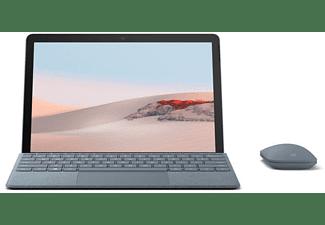 MICROSOFT Surface Go 2, Tablet mit 10,5 Zoll Display, Pentium® Gold Prozessor, 4 GB RAM, 64 GB eMMC, Platin