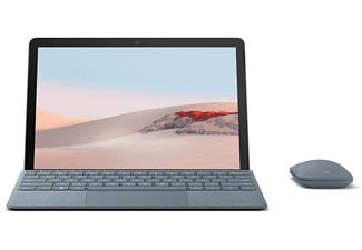 MICROSOFT Surface Go 2, Tablet mit 10,5 Zoll Display, Pentium® Gold Prozessor, 8 GB RAM, 128 GB SSD, Platin